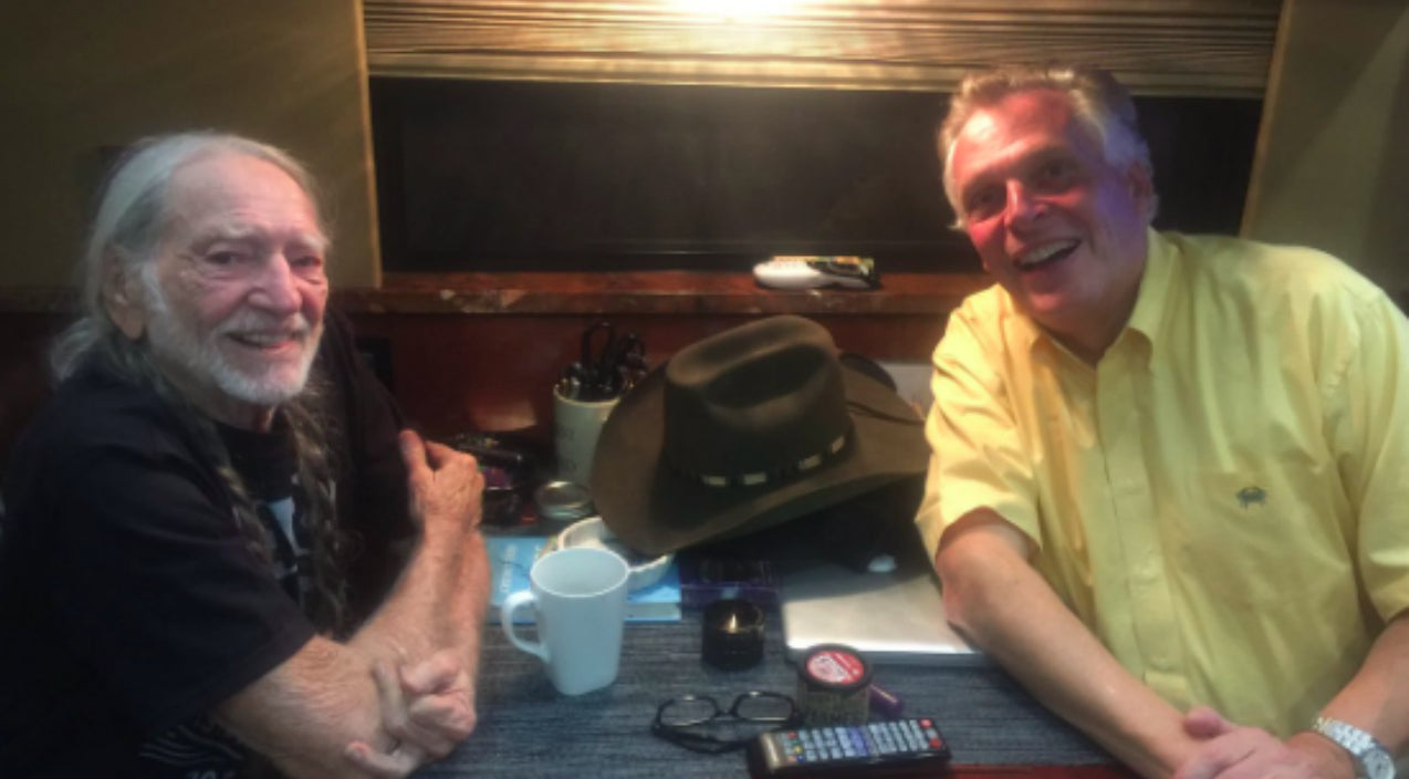Willie nelson Songs | Virginia Governor Didn't Realize What Was On The Table In His Viral Photo With Willie Nelson | Country Music Videos