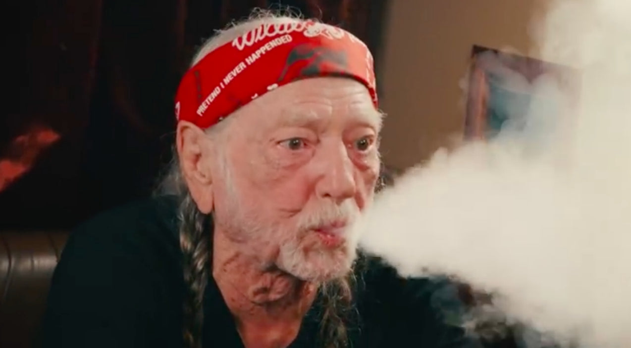 Willie nelson Songs   Jimmy Fallon Catches Willie Nelson Mid-Smoke During Unannounced Visit   Country Music Videos