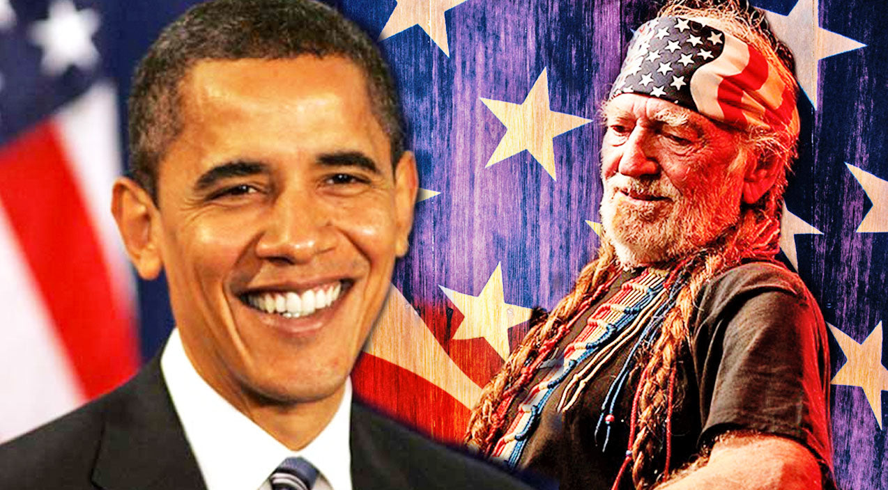 Willie nelson Songs | President Barack Obama Joins Willie Nelson In Unlikely Duet Performance! | Country Music Videos