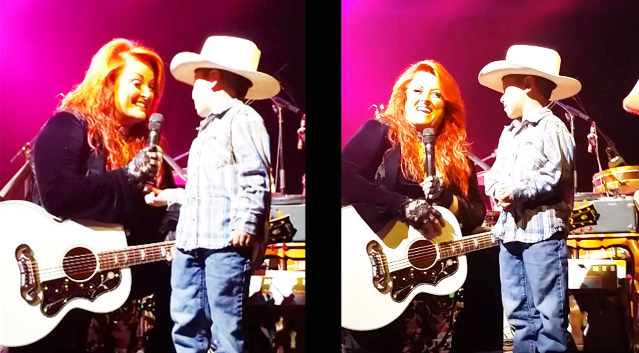 Wynonna judd Songs | Wynonna Judd Shares Adorable Moment With Little Cowboy | Country Music Videos