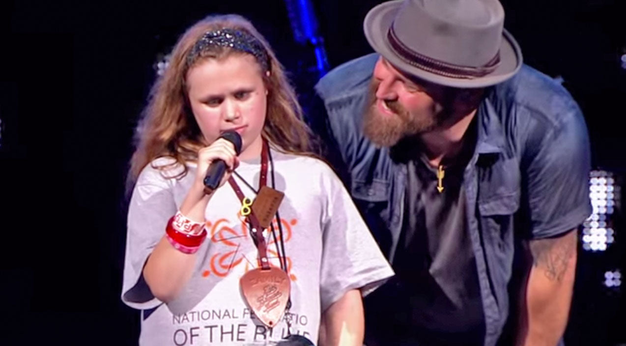 Zac brown band Songs | Blind 11-Year Old Steals The Show At Zac Brown Band Concert | Country Music Videos