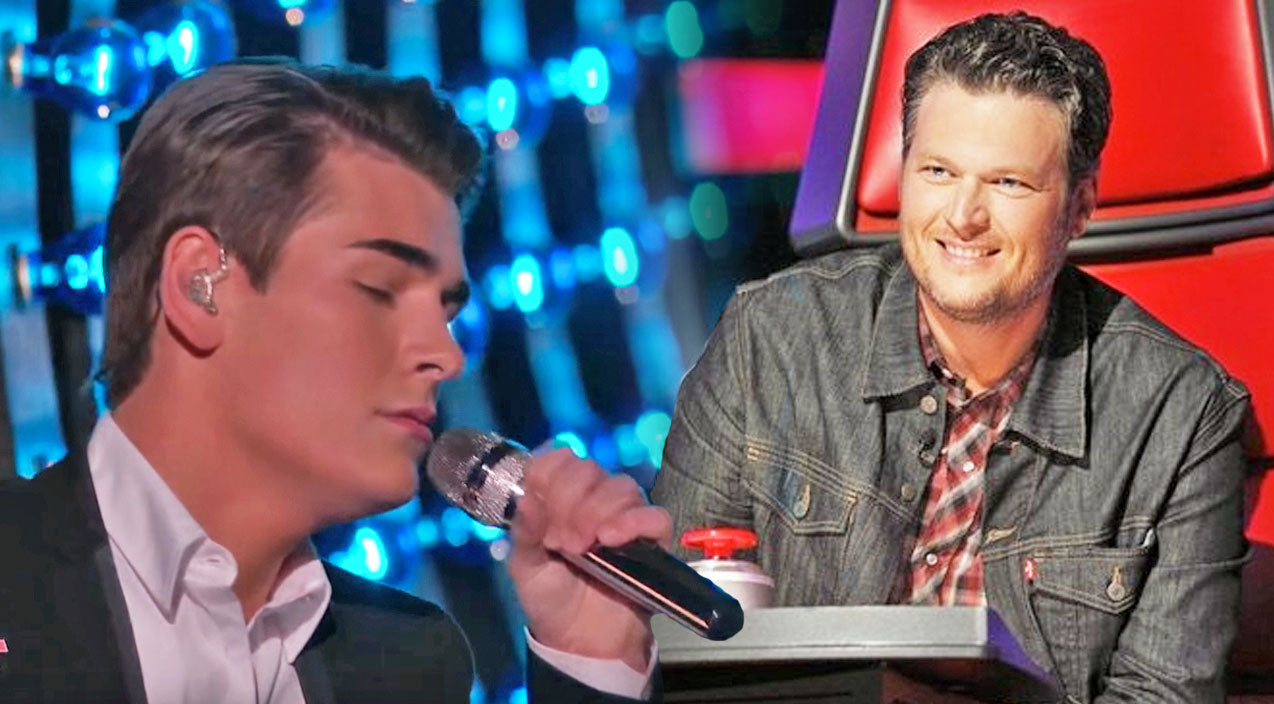 The voice Songs | Zach Seabaugh Fights For Top 10 Spot With 'Are You Gonna Kiss Me Or Not' | Country Music Videos