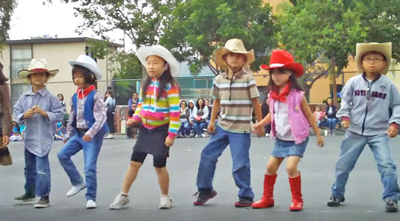 Billy ray cyrus Songs | Tiny Cowboys and Cowgirls Perform Cute As Can Be Line Dance To 'Achy Breaky Heart' | Country Music Videos