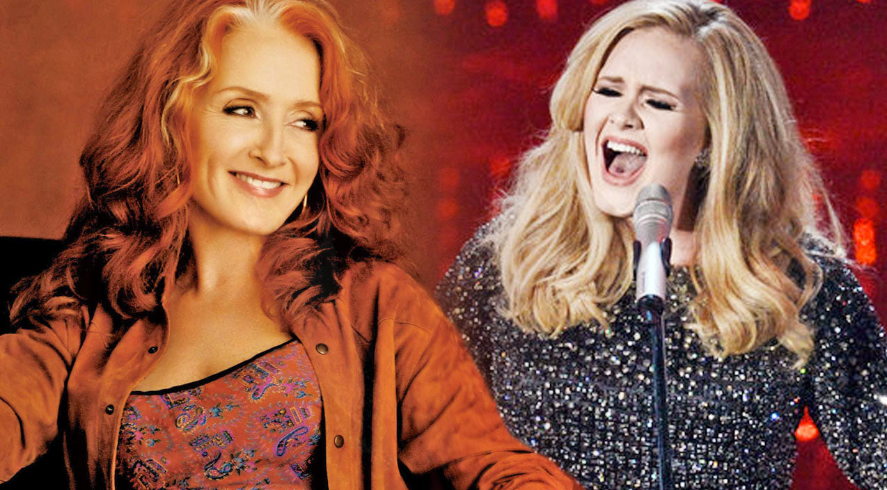 Bonnie raitt Songs | Adele Covers Bonnie Raitt's Heart-Wrenching Ballad 'Can't Make You Love Me' | Country Music Videos