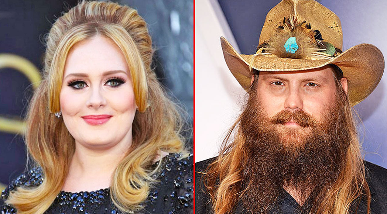Chris stapleton Songs | Even Adele Fell In Love With Chris Stapleton's Music And Here's Proof! | Country Music Videos