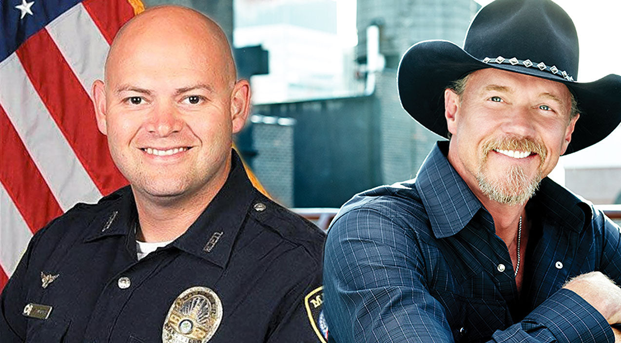 Trace adkins Songs | Trace Adkins Donates $10k To Heartbroken Family Of Slain Officer | Country Music Videos