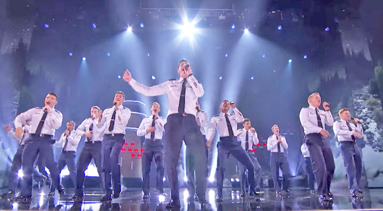 Air Force Academy A Cappella Group Earn Epic Praise From Simon With Stunning Performance   Country Music Videos