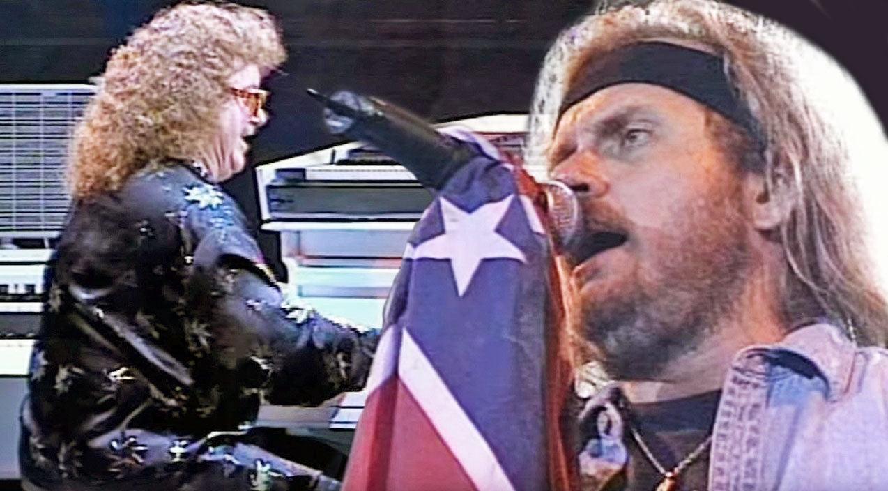 Lynyrd skynyrd Songs | Southern Pride Bleeds Through Skynyrd's Super-Charged Performance Of 'Sweet Home Alabama' | Country Music Videos