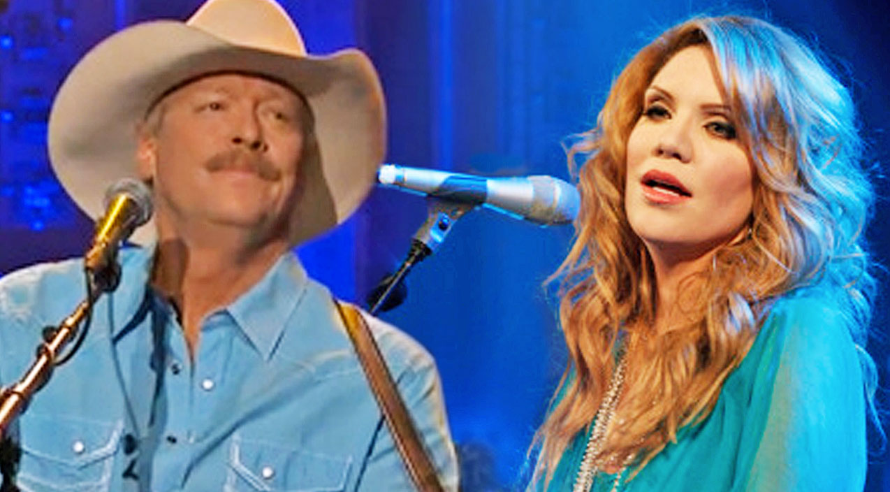 Alison krauss Songs | Alan Jackson & Alison Krauss Sing Heavenly Christmas Duet 'The Angels Cried' | Country Music Videos