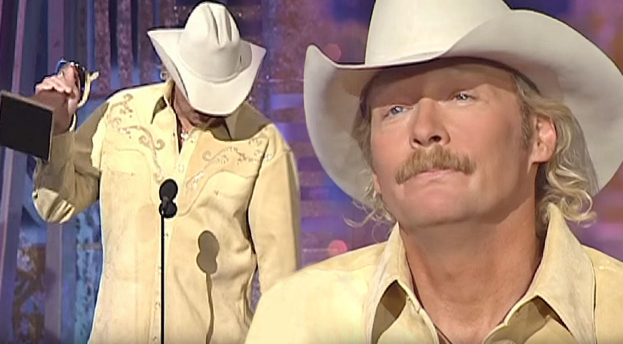 Alan jackson Songs | Alan Jackson Breaks Down During 'Song Of The Year' Acceptance Speech For 9/11 Tribute Song | Country Music Videos
