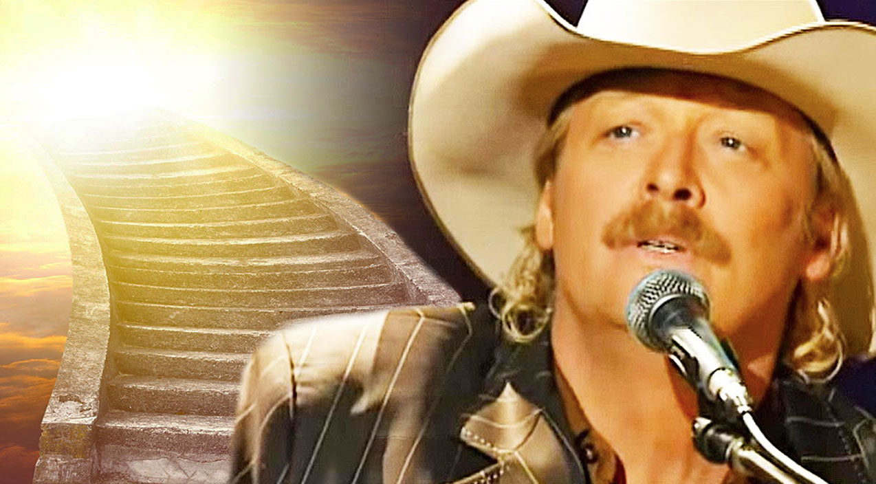 Alan jackson Songs | Alan Jackson Performs Breathtaking Rendition Of 'I Want To Stroll Over Heaven With You' | Country Music Videos