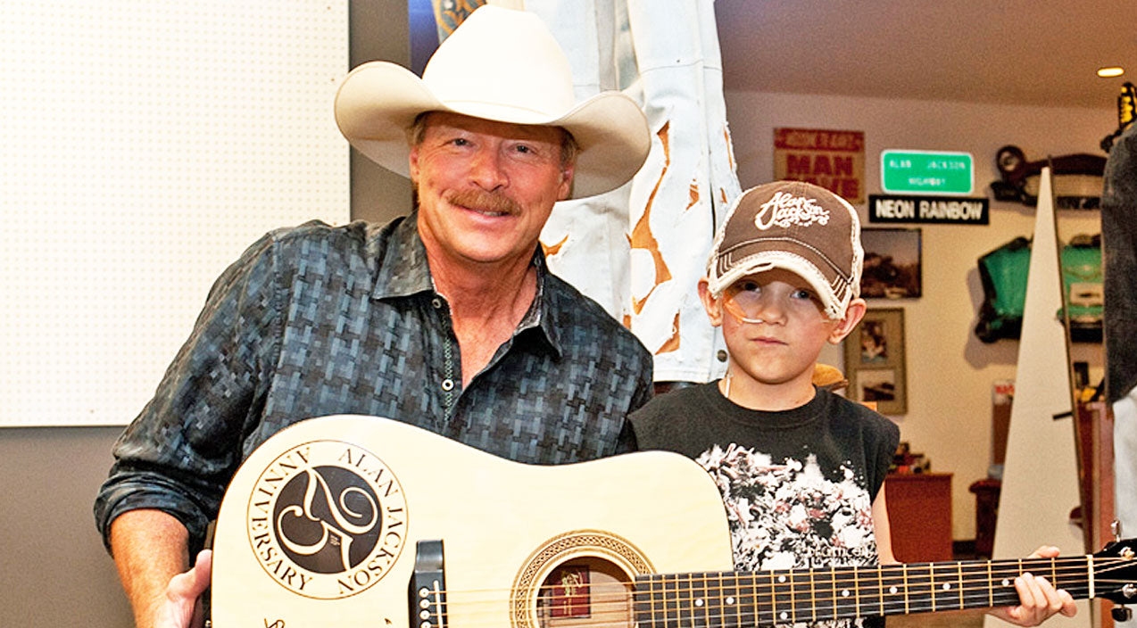Alan jackson Songs | Alan Jackson Wishes Happy Birthday To His 6-Year-Old Cancer-Stricken Fan | Country Music Videos
