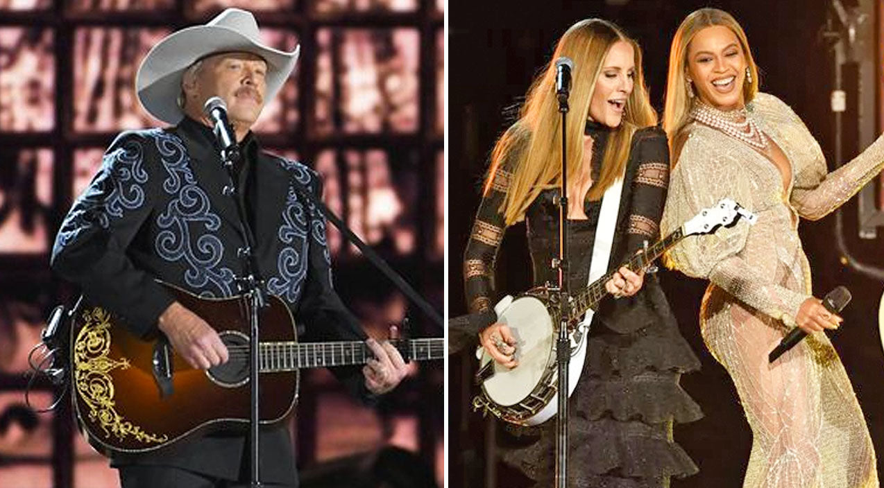 Alan jackson Songs | Alan Jackson Walked Out During Beyoncé's 2016 CMA Performance | Country Music Videos