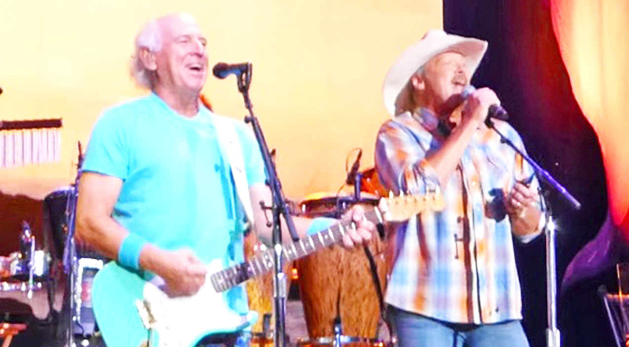 alan jackson,jimmy buffet,surprises,fans