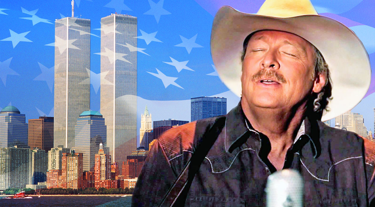 Alan jackson Songs   Alan Jackson Fights Back Tears In Emotional Tribute To 9/11 Victims   Country Music Videos