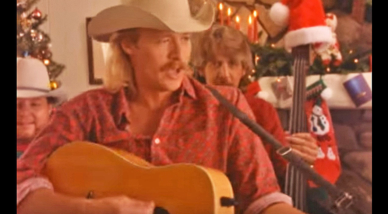Alan jackson Songs | Alan Jackson Will Steal Your Heart With 'I Only Want You For Christmas' | Country Music Videos