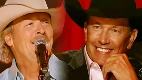 Alan jackson Songs | Alan Jackson - The Fireman (George Strait All-Star Concert) | Country Music Videos