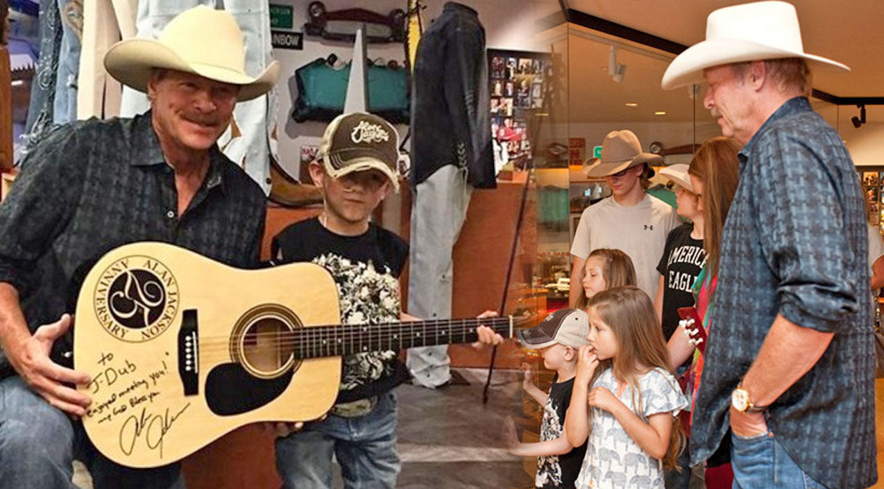 Alan jackson Songs | Alan Jackson Makes A 5 Year Old Fan With Cancer's Wish Come True (VIDEO) | Country Music Videos