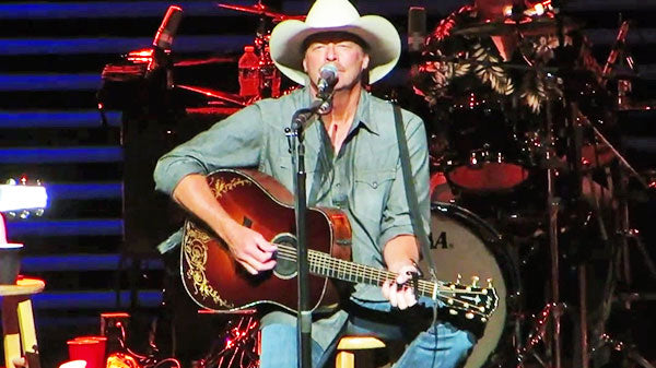 Alan jackson Songs | Alan Jackson - Song For The Life (LIVE) (VIDEO) | Country Music Videos