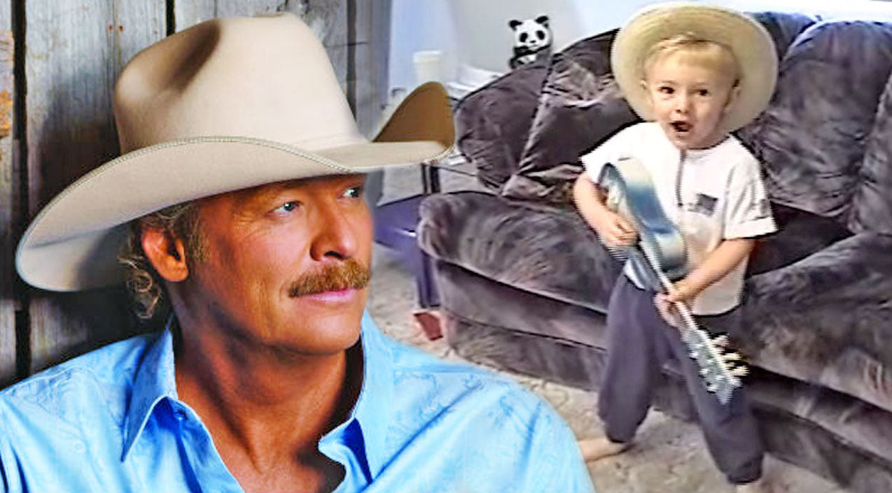 Alan jackson Songs | Y'all Have To See This Little Boy Keepin' It Country With Alan Jackson's Classic