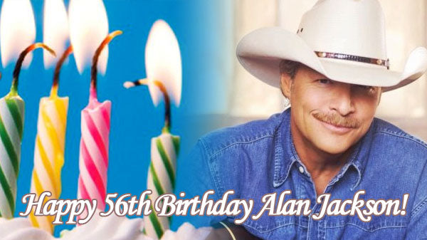 Alan jackson Songs | Alan Jackson - Fans Wish Alan a Happy Birthday! | Country Music Videos