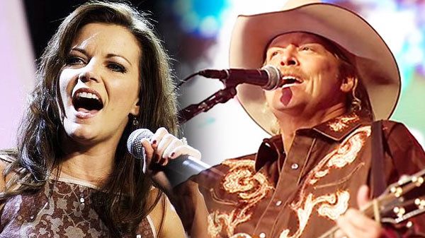 Alan Jackson & Martina McBride - Never Loved Before | Country Music Videos