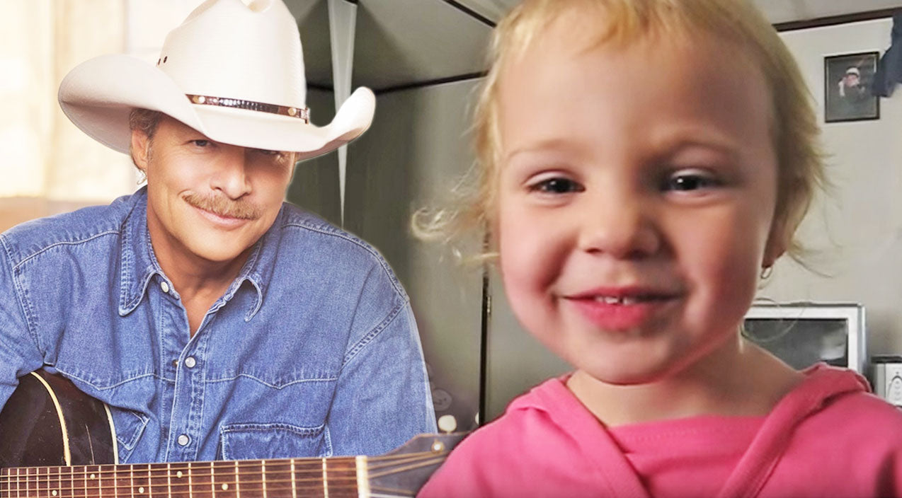Alan jackson Songs   3-Year-Old Girl Steals Hearts With Alan Jackson's 'Sissy's Song'   Country Music Videos