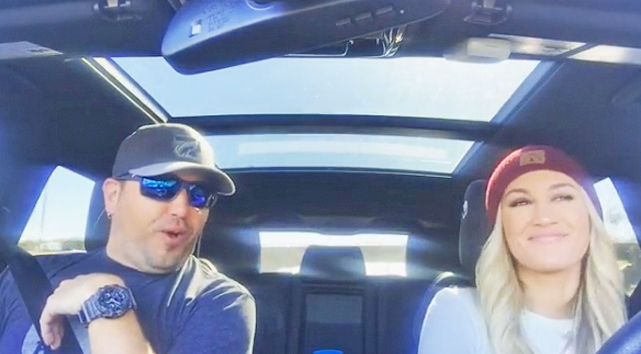 Jason aldean Songs | Jason Aldean And Wife Release Another Carpool Karaoke And It's Better Than The First | Country Music Videos