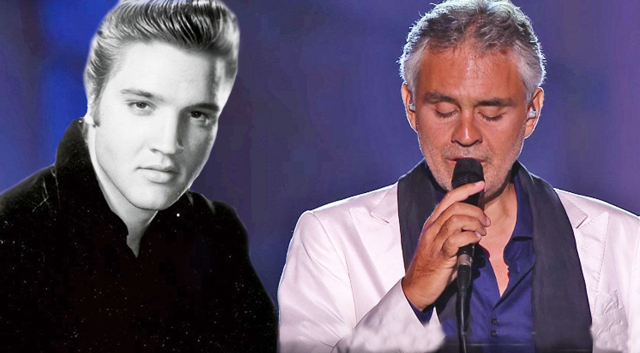 Elvis presley Songs | Fall In Love With Andrea Bocelli's Dreamy Cover Of 'Love Me Tender' | Country Music Videos