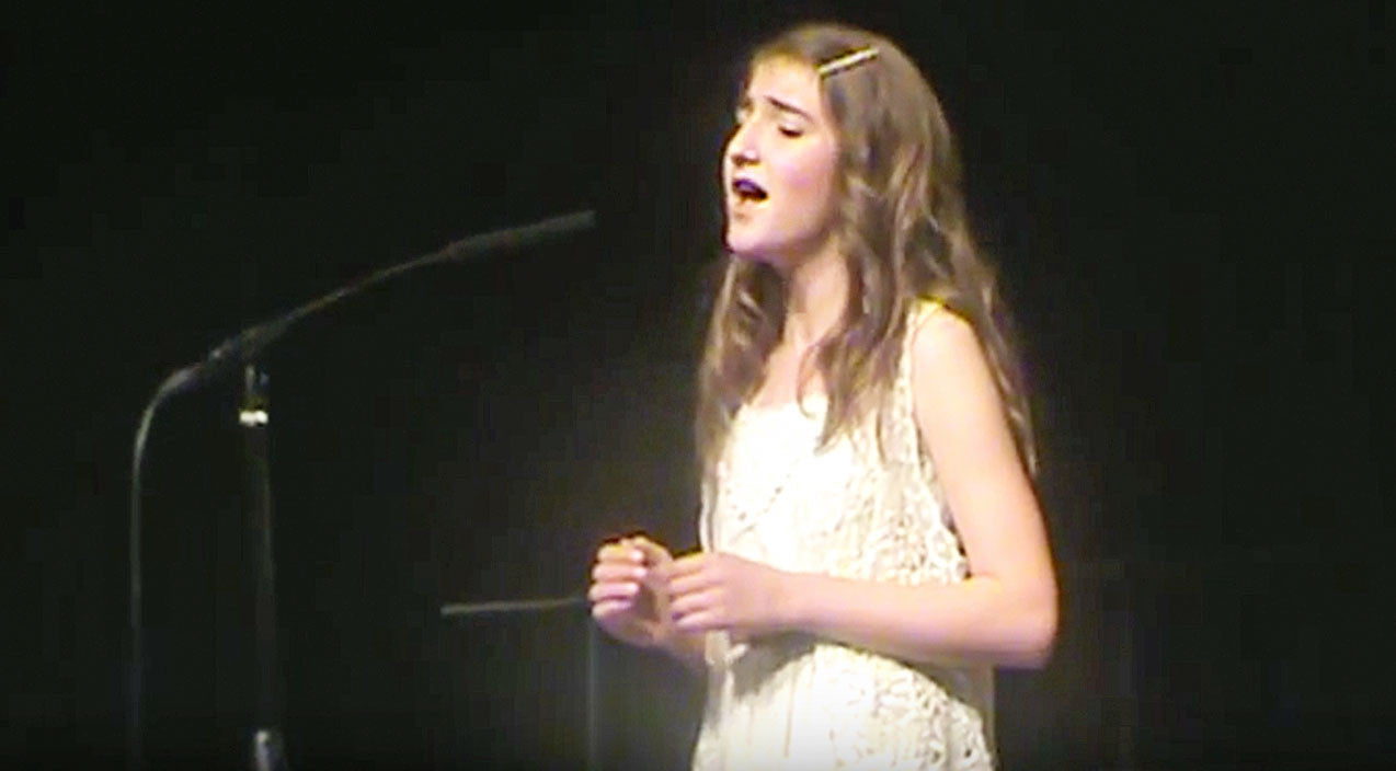 Martina mcbride Songs | 12-Year-Old Gives Heavenly Rendition To Heartbreaking Ballad 'Concrete Angel' | Country Music Videos