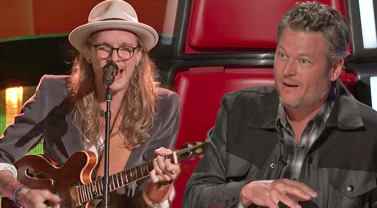 The voice Songs | Soulful Rocker's 'She Talks To Angels' Throws Blake & Adam Into Fight For His Attention | Country Music Videos