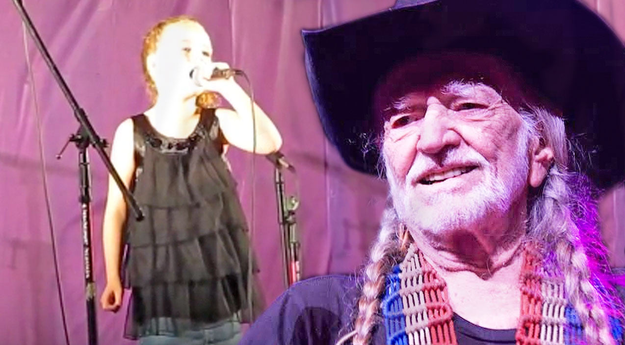 Willie nelson Songs | 8-Year-Old Girl Stuns Audience With Incredible Rendition Of Willie Nelson's 'Always On My Mind' | Country Music Videos