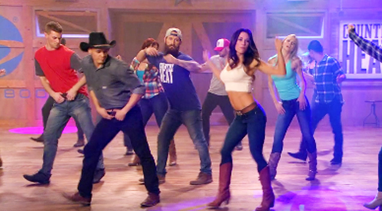 Sexy New Country Line Dance Will Have You Kickin' Up The Dust | Country Music Videos