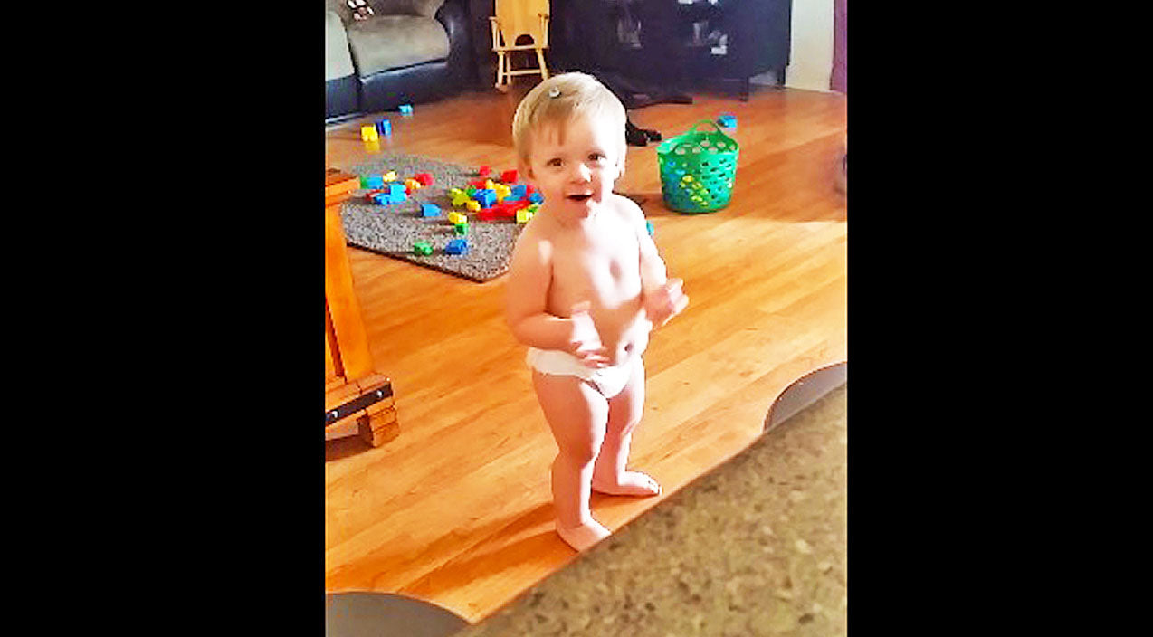 George strait Songs | Adorable Baby Gets 'Carried Away' Dancing To George Strait Song | Country Music Videos