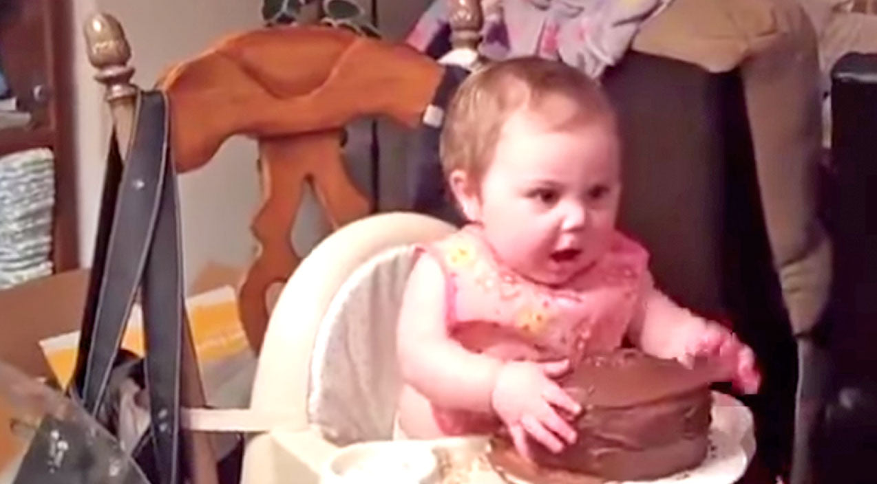 Family Songs | This Baby Gets Her First Taste Of Chocolate And What She Does Next Is Hysterical | Country Music Videos