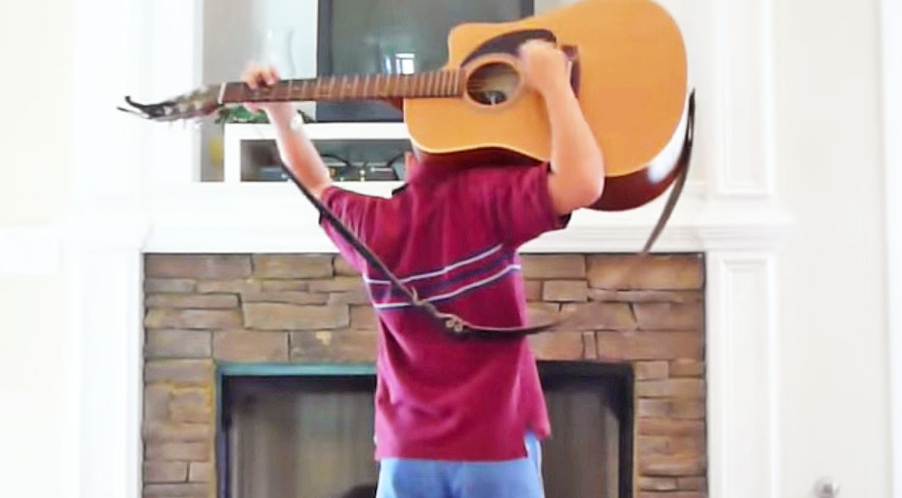 Lynyrd skynyrd Songs | Talented 10-Year-Old Plays Guitar To 'Sweet Home Alabama'...Behind His Back? | Country Music Videos