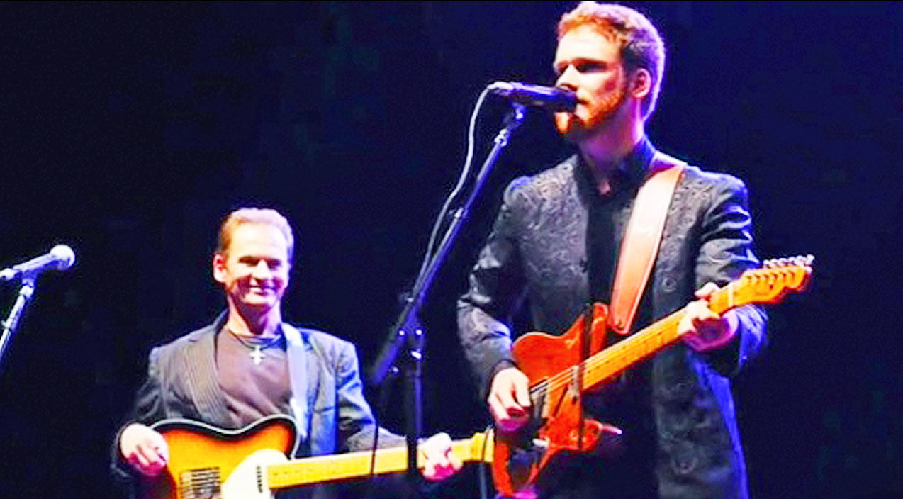 Noel haggard Songs | Ben Haggard Joins His Brother For Stunning Performance Of 'Today I Started Loving You Again' | Country Music Videos