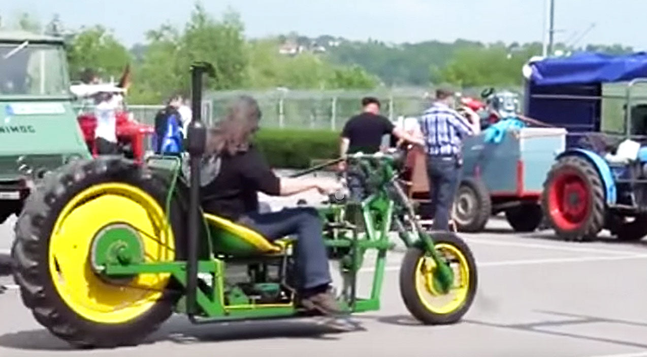 Viral content Songs | See John Deere Tractor Turned Bad Ass Chopper | Country Music Videos