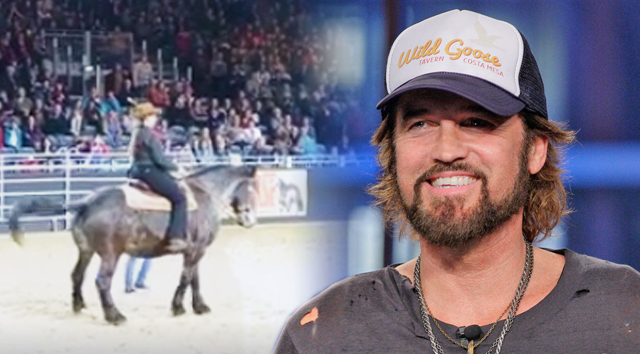 Billy ray cyrus Songs | This Horse Busting A Move To 'Achy Breaky Heart' Is A Better Line Dancer Than You | Country Music Videos