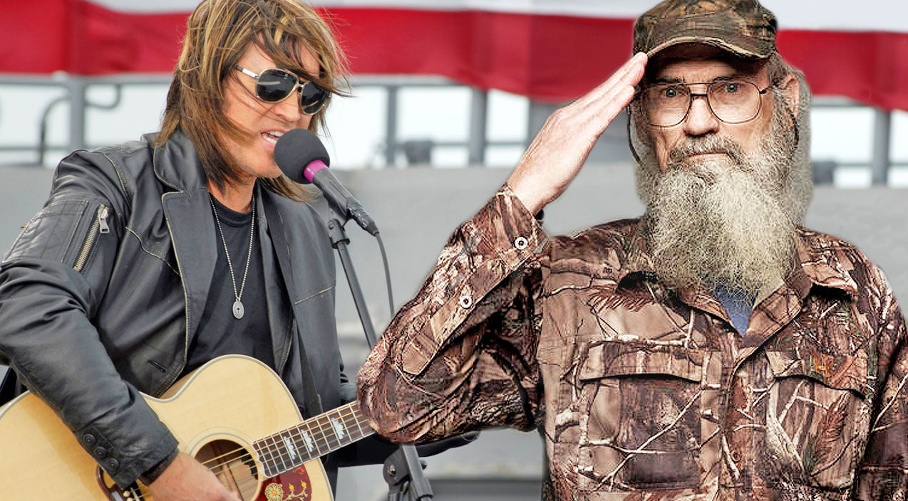 Si robertson Songs | Duck Dynasty's Uncle Si Joins Billy Ray Cyrus On Opry Stage For 'Some Gave All' Duet | Country Music Videos