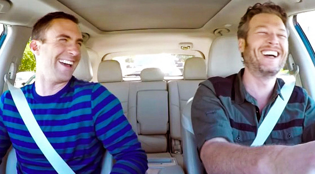The voice Songs | Blake Shelton & Adam Levine Can't Stop Laughing In Hilarious Commute Outtakes | Country Music Videos