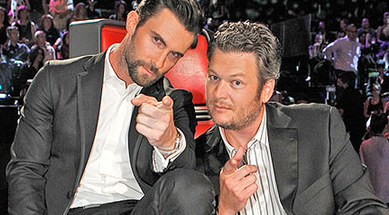 Blake shelton Songs | Top 7 GIFs That Define Blake Shelton And Adam Levine's Epic Bromance | Country Music Videos