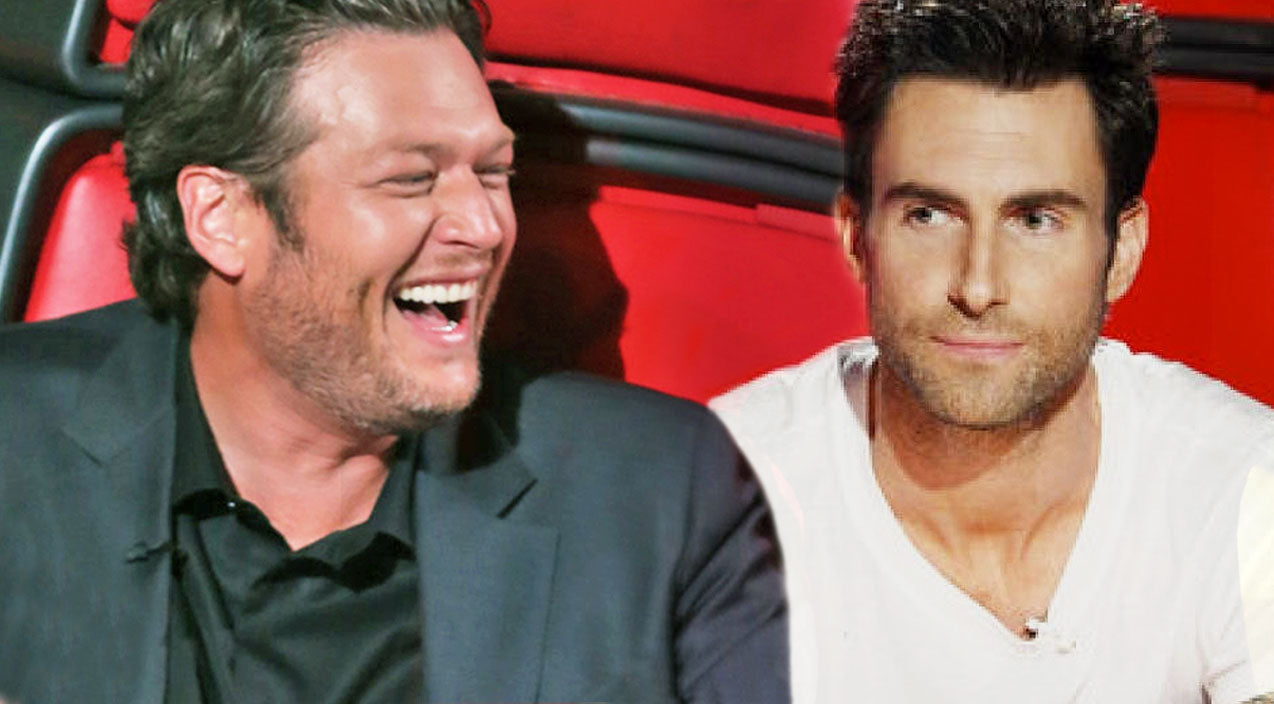 The voice Songs | Blake Shelton Makes Fun Of Adam Levine In The Best Way Possible | Country Music Videos