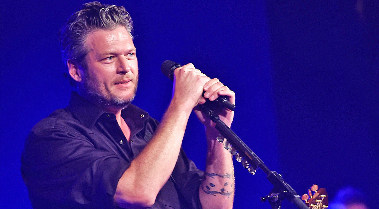 Blake shelton Songs | Blake Shelton Shows His Vulnerable Side In Stripped Down Version Of 'She Talks To Angels' | Country Music Videos