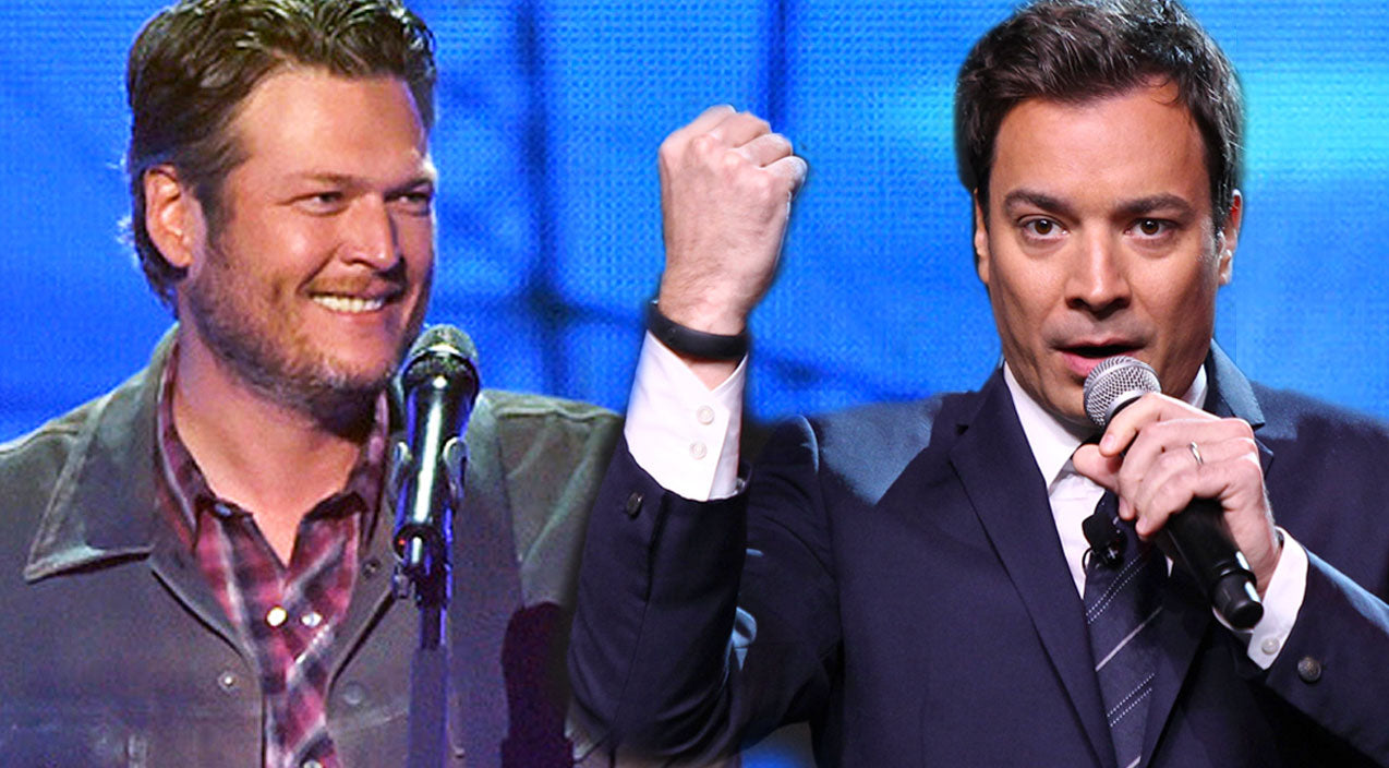 Modern country Songs | Blake Shelton Joins Jimmy Fallon In Hilarious 'Piña Colada Song' Duet | Country Music Videos