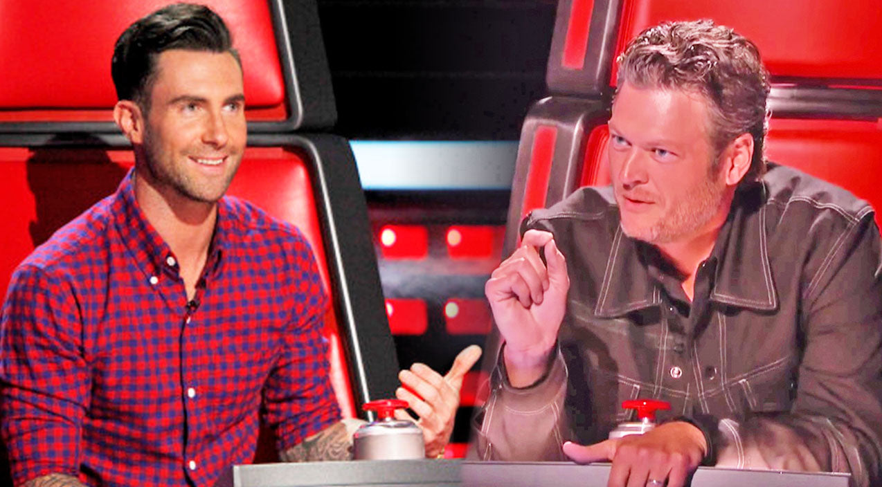 The voice Songs | A Desperate Blake Shelton Takes A Dig At Adam Levine On 'The Voice' | Country Music Videos
