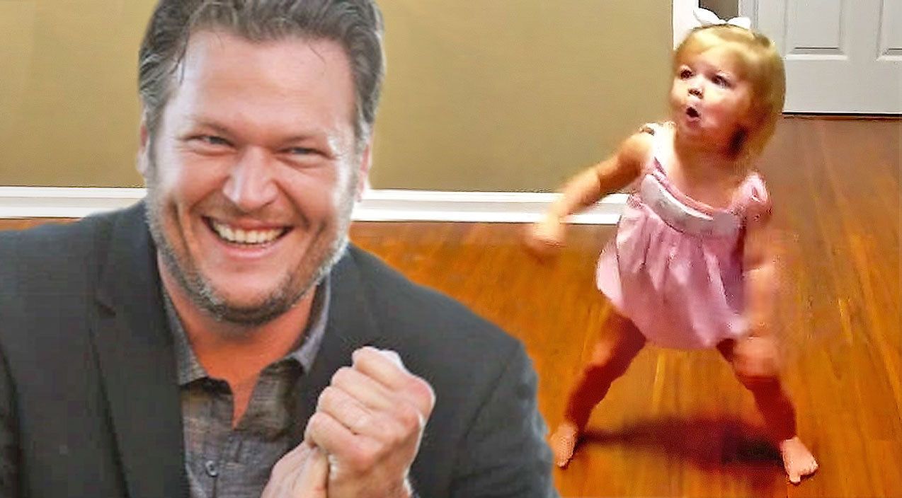Blake shelton Songs | TOO CUTE: Little Girl Hears Her Favorite Blake Shelton Song And Can't Help But Dance! | Country Music Videos