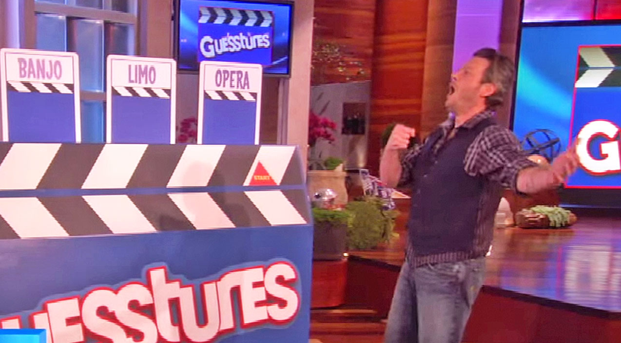 The ellen show Songs | Blake Shelton & The Voice Cast Play An Epic Game Of 'Guesstures' On The Ellen Show | Country Music Videos