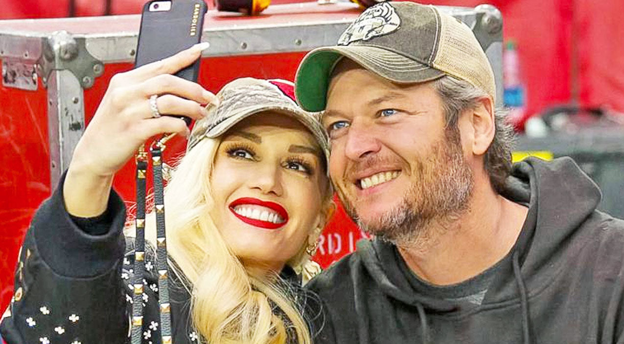 The voice Songs | Blake Shelton & Gwen Stefani Share Romantic Photo Hours Before Much-Anticipated Duet | Country Music Videos