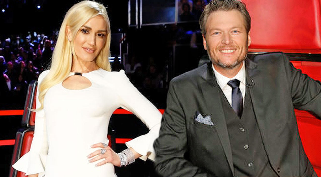 Gwen stefani Songs | Blake Shelton Saves The Day, Catches Gwen Stefani As She Trips Onstage | Country Music Videos